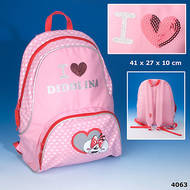 I Love Diddlina Backpack
